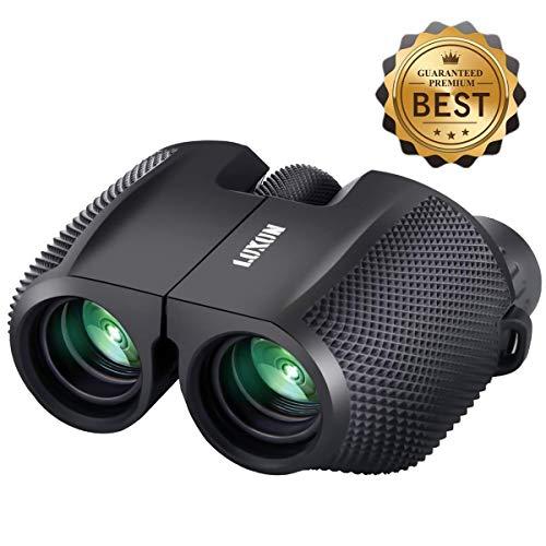 10x25 Vergrößerung Mini Binocular mit Nachtsicht,SGODDE Fernglas Kompakt Wasserdicht klappbare leichte für Erwachsene Kinder Vogelbeobachtung Gestochen Scharfe HD Weitsicht