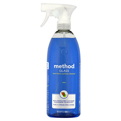 Method Best In Glass Window And Glass Cleaner Mint 828 Ml (Pack Of 8)