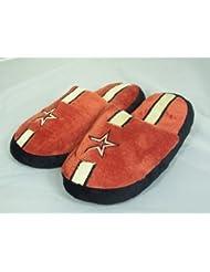 Houston Astros MLB Team Stripe Slide Slippers