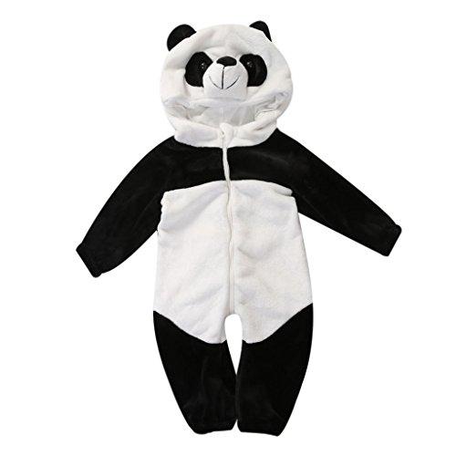 Imagen de katara  1778  disfraz enterizo cn 80 / 6 12 mesi / 66 73cm panda nero e bianco alternativa