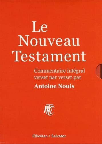 Le Nouveau Testament : Commentaire intégral verset par verset. Coffret en 2 volumes : Les quatre évangiles  ; Actes, épîtres, apocalypse