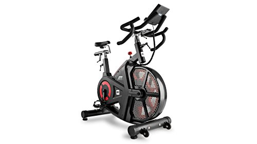 41knak4CjsL - Bh Fitness Unisex's i.Air Mag Spinning Bikes, Black/Red, Large