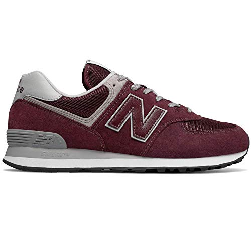 New Balance Men's 574v2 Trainers, Red (Burgundy), 10.5 Uk (45 Eu)