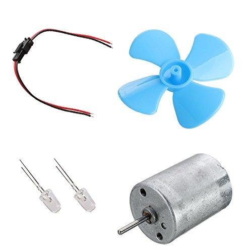 BIlinli Mini New Wind Micro Turbine Generator Ladegerät DC 5V USB Ausgangsmotoren