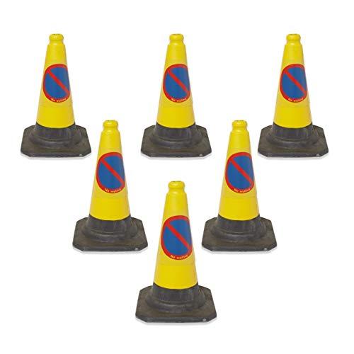 Prodotti per la sicurezza stradale HP NW TSC 6 confezione da 6 coni senza attesa 500