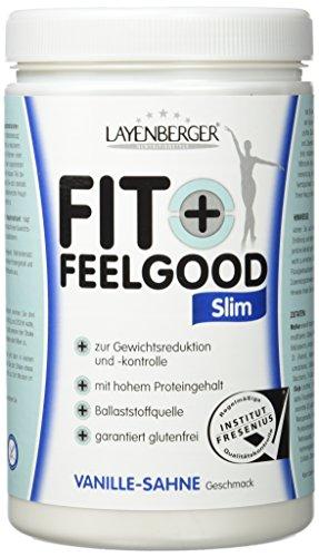 Layenberger Fit+Feelgood Slim Mahlzeitersatz Vanille-Sahne, 1er Pack (1 x - Pulver Frauen