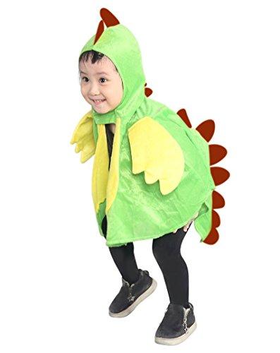 Drachen-Kostüm, AN78 Gr. 74-98, für Klein-Kinder, Babies, Drache Kind Drachen-Kostüme für Fasching Karneval, Kleinkinder-Karnevalskostüme, Kinder-Faschingskostüme, Geburtstags-Geschenk - Drachen Kostüm Für Kind