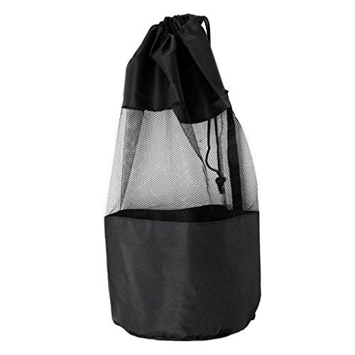 FLAMEER Kordelzug Tauchen Mesh Gear Bag Für Tauchen Schnorcheln Schwimmen Maske Nassanzug Flossen Flossen Zubehör