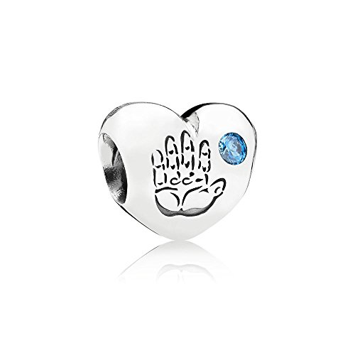 Pandora Silber Charm Baby Junge Boy 791281CZB - Silber Girl Charm Baby Sterling