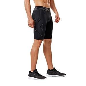 2x u Herren beschleunigen Kompression Shorts