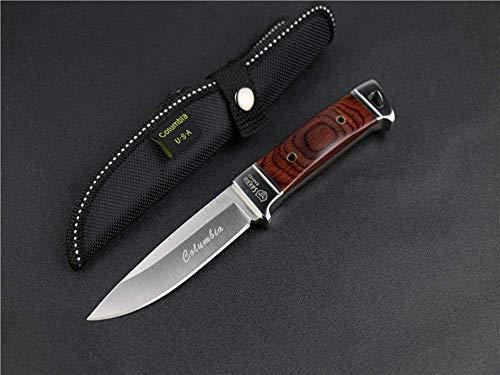 FARDEER Knife Cuchillo de Supervivencia al Aire Libre Cuchillo de Hoja Fija NO.SA26