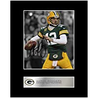 Signiertes Foto Aaron Rodgers, Green Bay Packers, fixiert