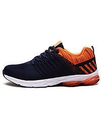 Fexkean Zapatillas de Deporte Zapatos Deportivos para Hombre Aire Libre Antideslizante Running Shoes 38-45