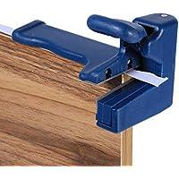 Zunate Trimmer Banding Machine Set,Double Edge Trimmer Banding Machine Set Kantenschneider Kopf- und Schwanzschneider für Panel-Möbel-, Schaltschrank-Produktion, Werkzeug für die Holzbearbeitung Edge