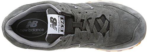 New Balance Herren Nbml574fsc Lifestyle 574 grau (Grey Full Pigskin)
