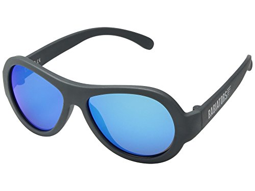 Babiators Kinder Original Aviators Uv-Sonnenbrille, Blue Steel, 3-5 Jahre