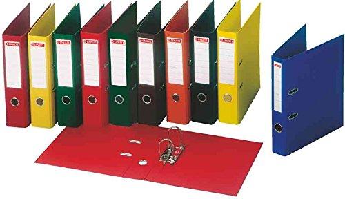esselte-lot-de-10-classeurs-a-levier-dos-de-5cm-plastifie-int-et-ext-coloris-aleatoire