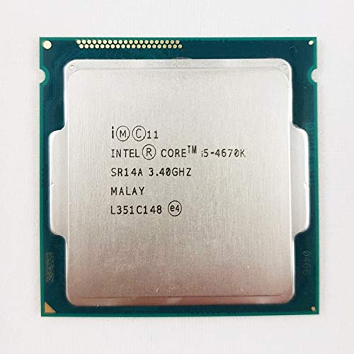 DIPU WULIAN Intel Core i5 4670K Processor 3.4GHz 6MB