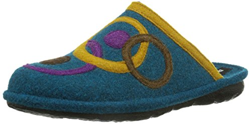 Romika - Mikado 70, Pantofole Donna Blu (Blau (blau 500))