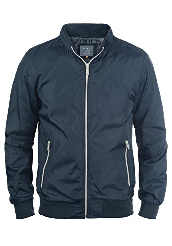 Blend Brad Herren Übergangsjacke Herrenjacke Nylonjacke mit Stehkragen, Größe:3XL, Farbe:Navy (70230)