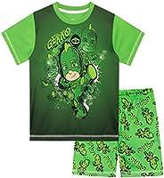 PJ Masks Pijamas de Manga Corta para niños Gekko