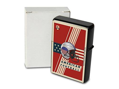 Feuerzeug Benzin Sturmfeuerzeug Bedruckt American Football