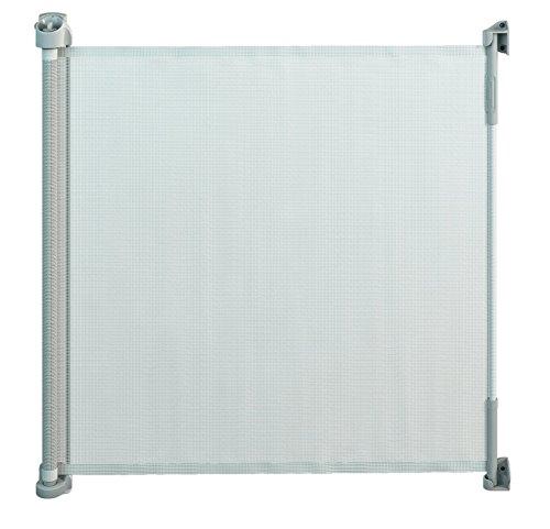 hundeinfo24.de Gaterol Active Lite Ausziehbares Treppenschutzgitter und Türschutzgitter Rollo bis 140 cm, Weiß