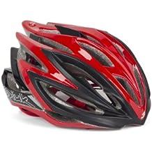 Spiuk Dharma - Casco de ciclismo, color rojo / negro, talla 53 - 61