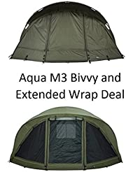 Aqua M3tienda de campaña y Extended Wrap Deal