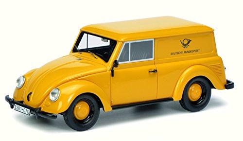 Schuco 450900800 - Coche Modelo VW Beetle Kombi, Escala 1:43, Color Amarillo