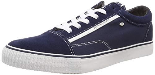 British Knights Herren Mack Sneaker, Blau (Navy/White Suede 03), 42 EU