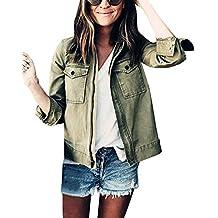comprar popular 8d000 b24c8 chaqueta militar mujer - Amazon.es