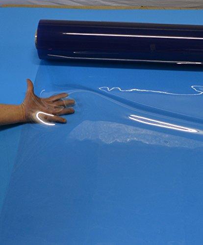 fensterplane weich PVC Klarsichtfolie 1,0 mm stark 1,00 m Breit Meterware