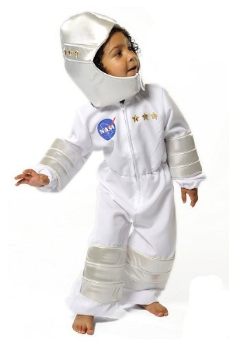 Kostüm Fancy Dress Bee - Boys Kids Childrens Astronaut Nasa Space Man Suit Fancy Dress Halloween Costume 3-5 Years by Pretend to Bee