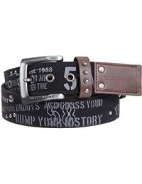 Timezone Herren Gürtel 20-0061 Canvas belt