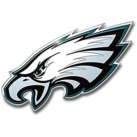 NFL Philadelphia Eagles Die Cut Color Automobile Emblem