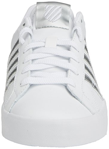 K-Swiss Belmont So, Sneakers Basses femme Blanc (White/silver 155)