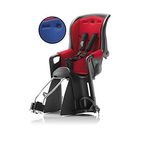 Britax Römer Jockey Relax Kindersitz mit 2 Bezügen rot/blau 2018 Fahrrad-Sitz Kinder Jugendliche Rad-Sitz