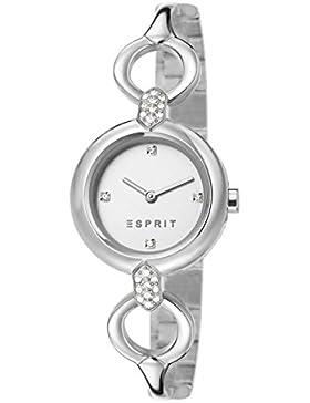 Esprit Damen Armbanduhr Datum klassisch Quarz Edelstahl ES107332001