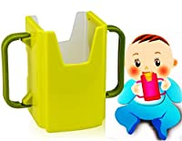Scalable Baby Cup Milk Box Water Beverage Holder (Green)