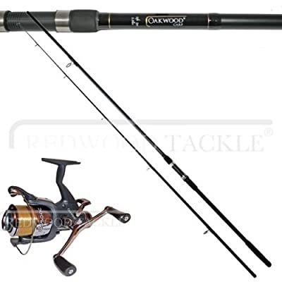 Carp Combo 12ft Carp Rod + Bait Runner Reel X 2 by lineaeffe