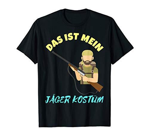 Lustige Jäger Kostüm - Das ist Mein Jäger Kostüm Party T-Shirt für Oktoberfest