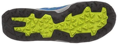 Viking - Kuling Mid Gtx, Scarpe da escursionismo Donna Blu (Blau (Blue/Yellow 3513))