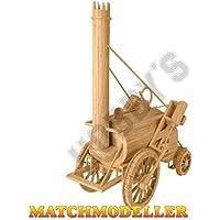 Hobby's Matchbuilder 1829 Stephenson's Rocket # MM25 by Matchmodeller