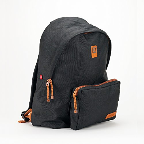 KUTS , Damen Rucksackhandtasche schwarz
