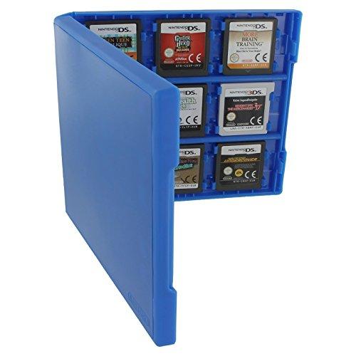 Assecure Pro 18in 1Game Cartridge Halter Storage System Folio Style Case Box für Nintendo 3DS, 2DS und DS Spiel Karten (Ds-halter)