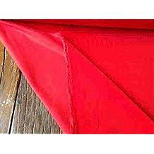 Rojo Tela de terciopelo de algodón costura/pana: por metro, 240g/m², 112cm de ancho