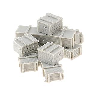 D DOLITY 1/35 Resin Unpainted Ammunition Boxes & Ammunition Crates Accessories Set 8 Case