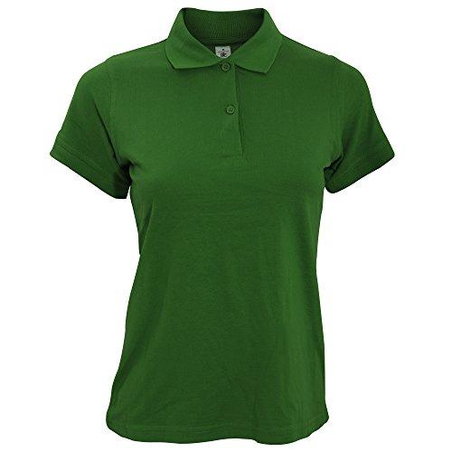 B&C Safran - Polo - Femme Vert - Real Green