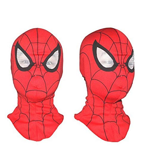 Kostüm Spider Queen Kind - YAX Masken Spiderman Maske/Spider-Man Handschuhe Kinder Und Erwachsene Halloween Party Supplies Avengers Carnaval Kostüm Kids <Br/> A